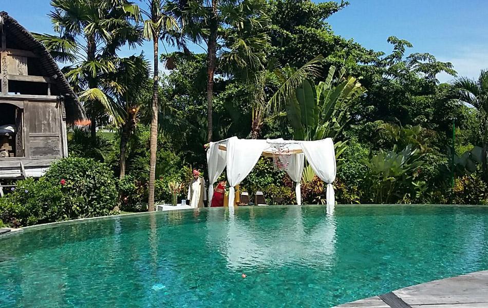 bali wedding villa