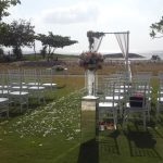 beach wedding holiday in baruna