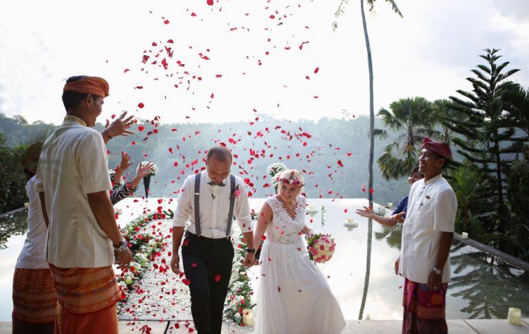 corrina and roman legal wedding - kupu kupu barong ubud