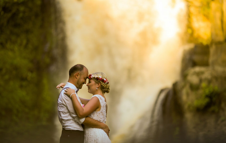 corrina and roman legal wedding in Ubud Bali
