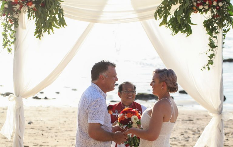 yes i do - bali wedding vows