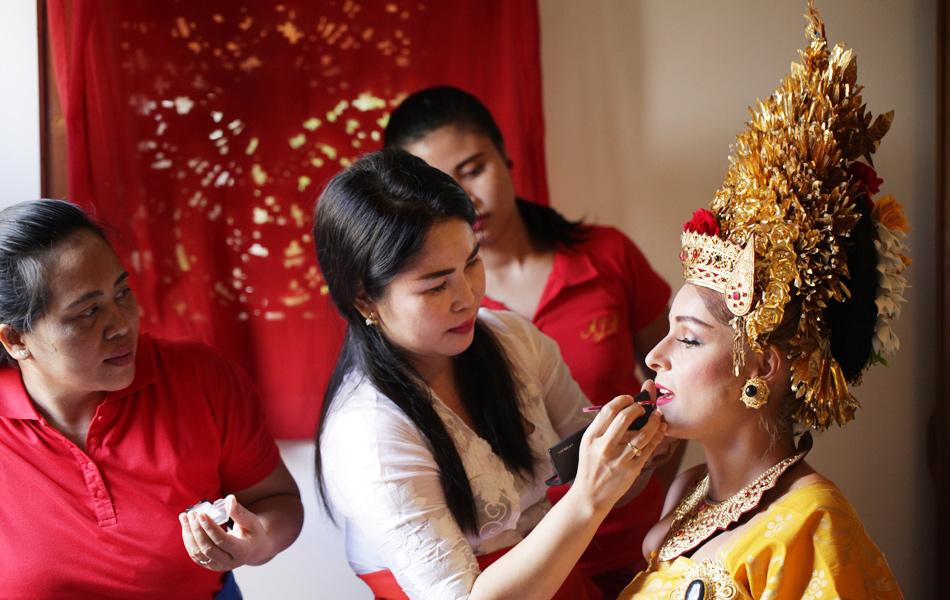 axel - kathleen balinese makeup artist