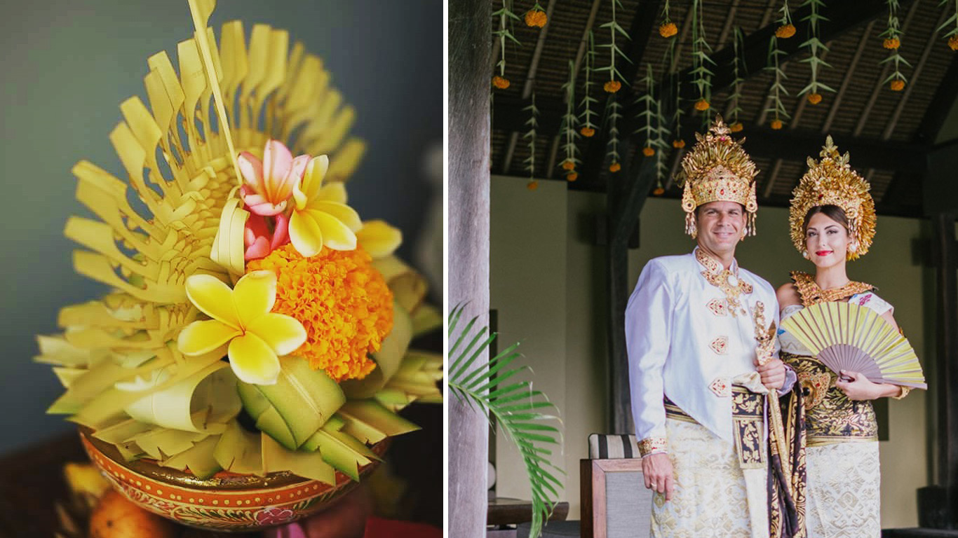 balinese hindu wedding ceremony