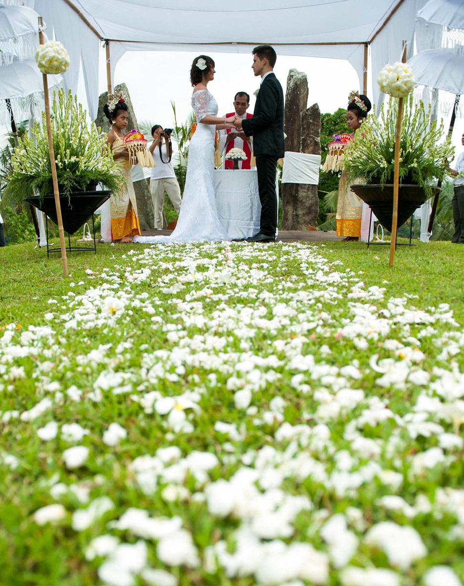 margarita wedding at alila villa ubud bali