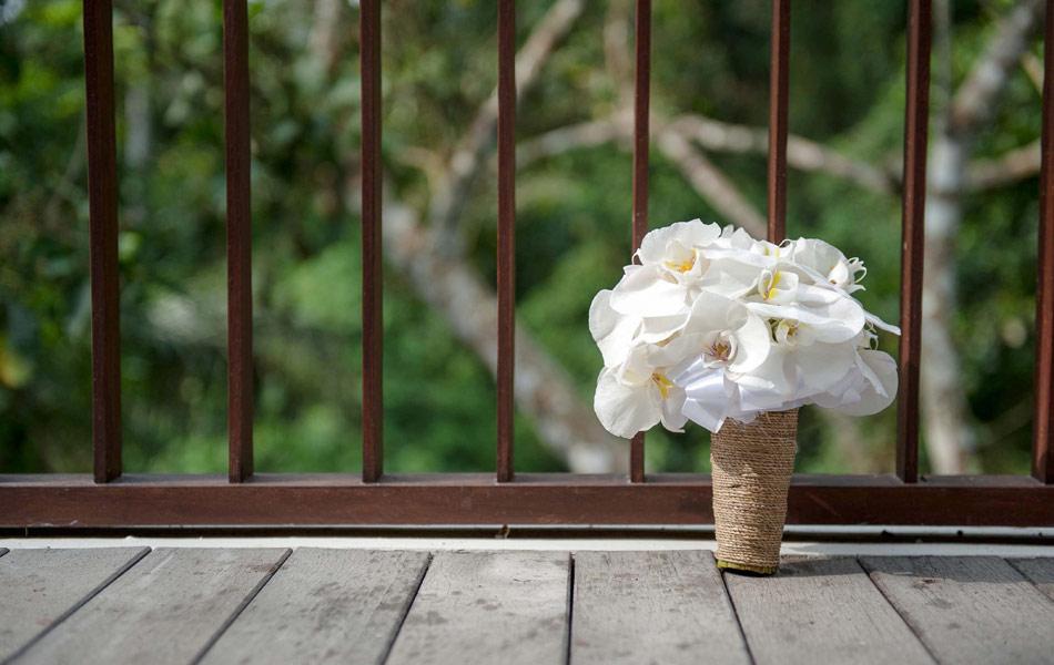 wedding bouquet flower at bali