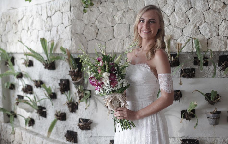 commitment wedding at balangan beach bali