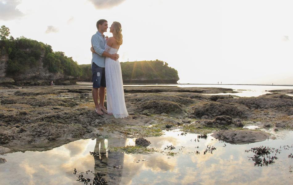 beach commitment wedding bali
