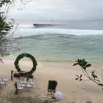 new kuta golf private beach wedding