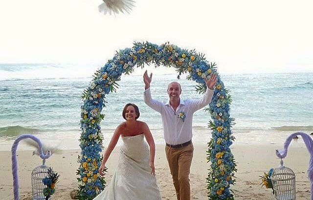 New Kuta Golf Hidden Beach Wedding