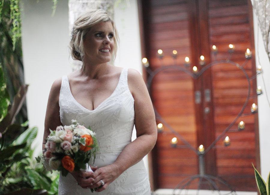 Tammie and Clinton Wedding Ubud Padi Villas