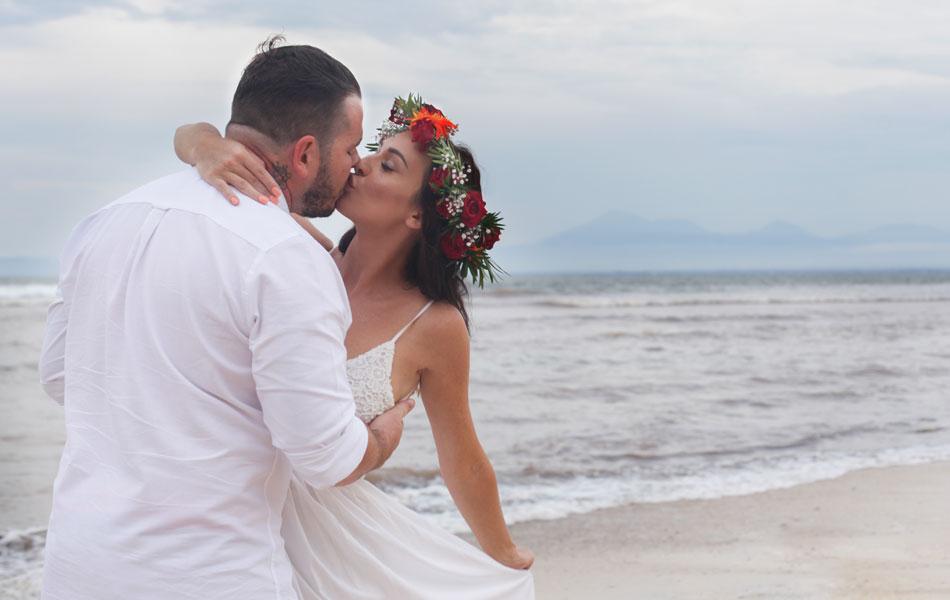 jasmin and adam beach commitment wedding in bali