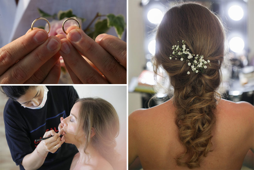 lara - riccardo makeup wedding