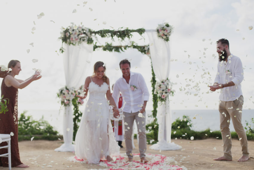 lara - riccardo bali wedding
