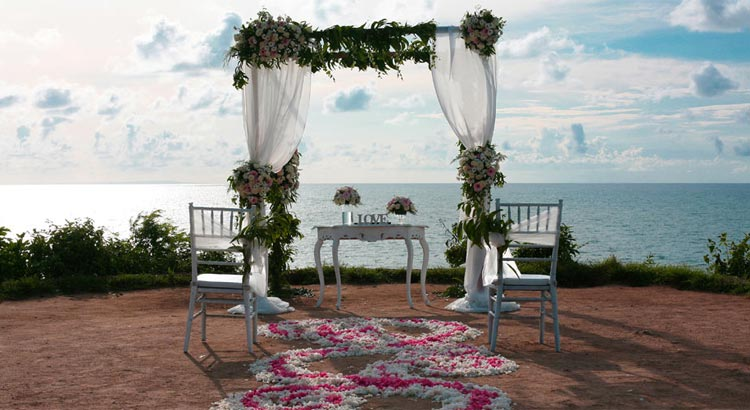 balangan cliff jimbaran wedding venue