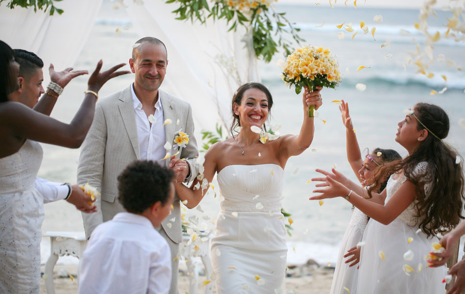 mourad and roumilla bali wedding of vows