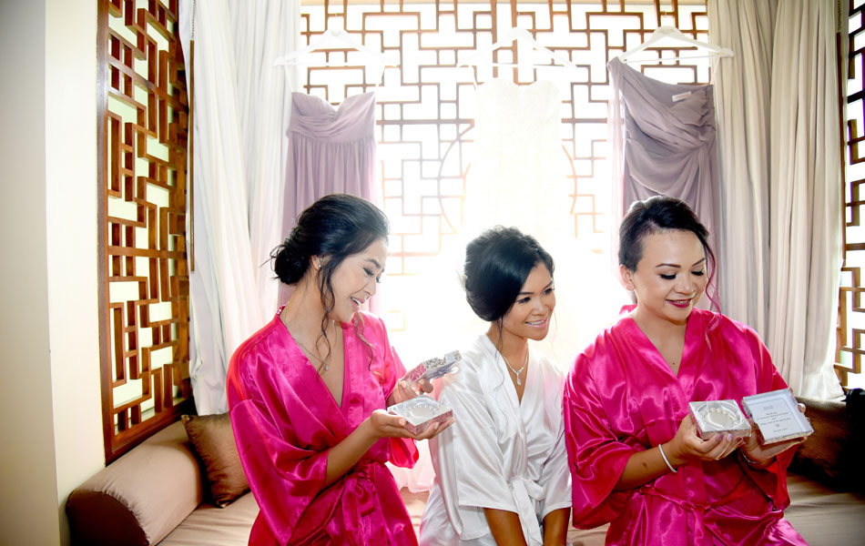 tracy and jason buddhist wedding - novotel benoa