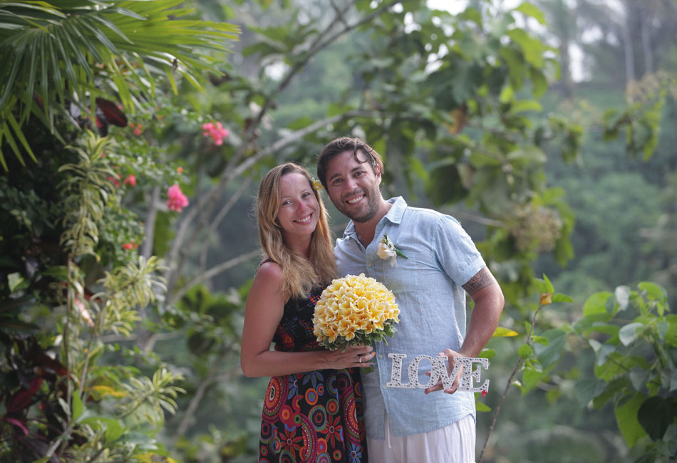 sylvia marcus bali wedding commitment