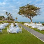 hilton bali resort garden wedding