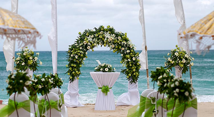 hilton bali resort beach wedding