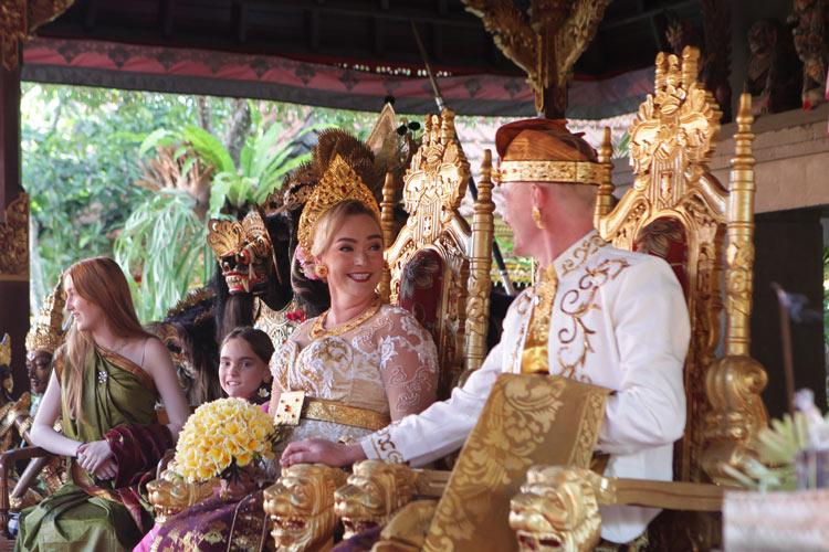 thomas Wenche balinese wedding ceremony