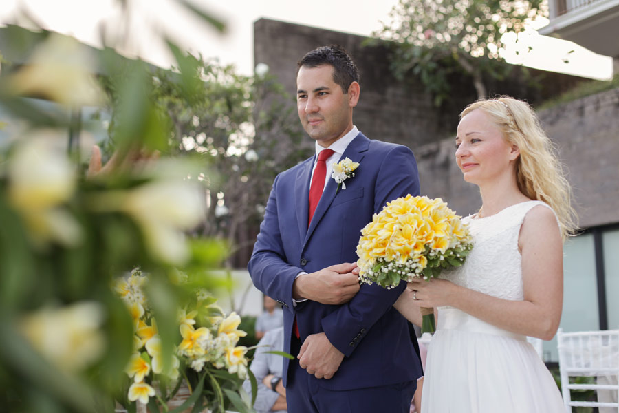 waldin Pavla commitment bali wedding