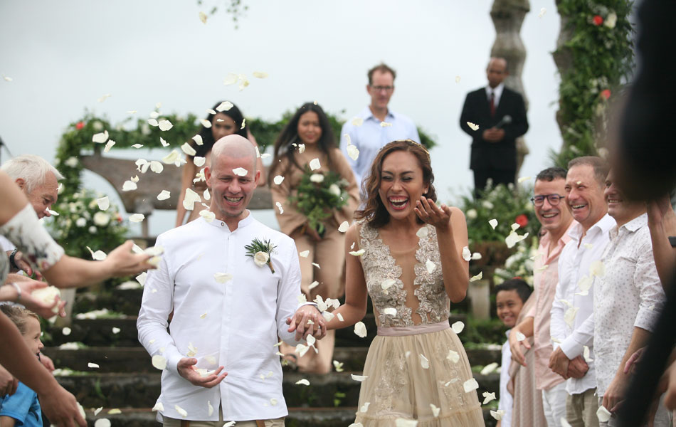 Mirelsa and Paul Bali Renewal of Vows