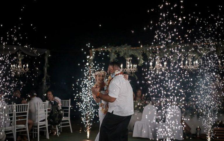 inna new kuta golf bali wedding party