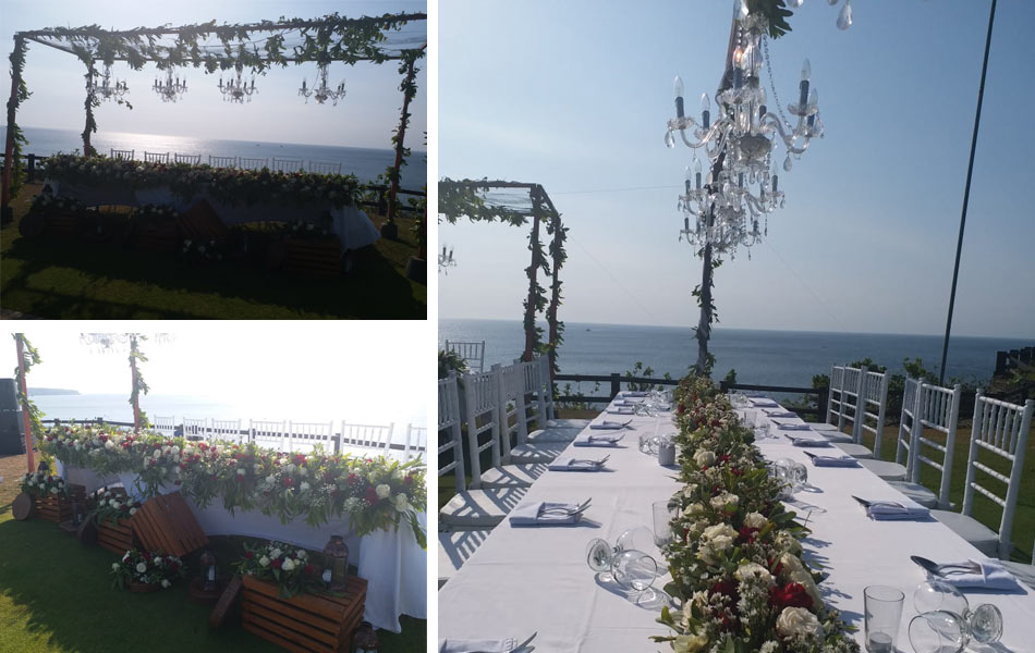 inna new kuta golf bali wedding party