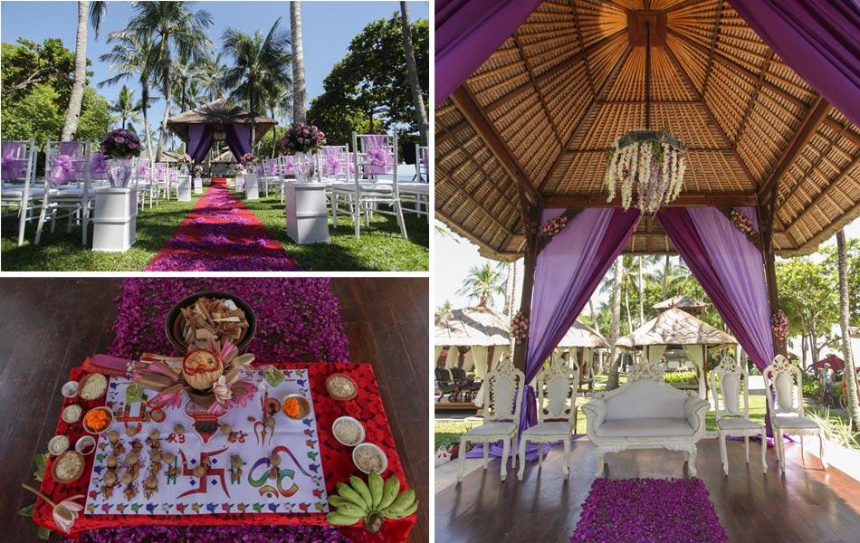 Sreeju and Soman Indian Bali Wedding