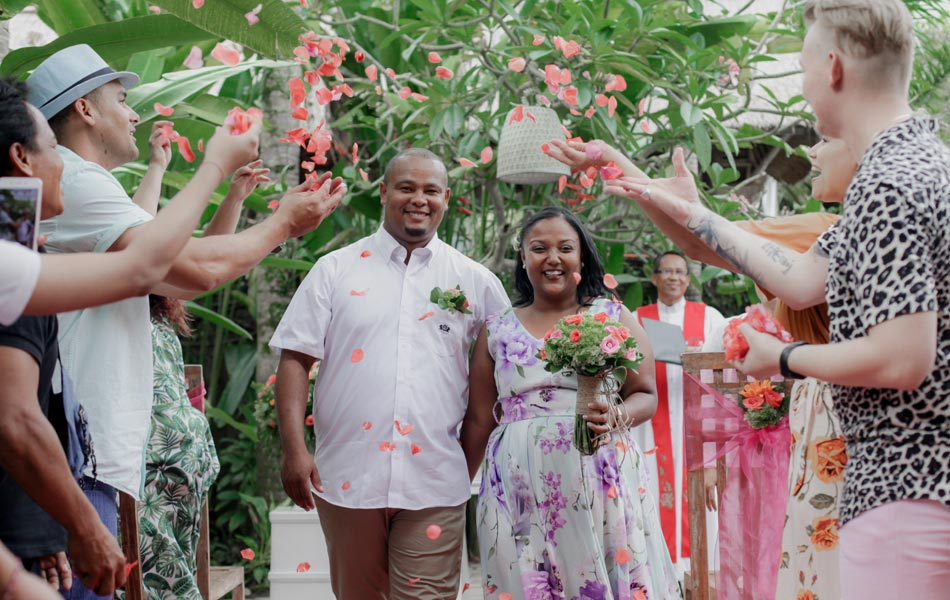 Britt and Erwin Wedding Ceremony - Happy Bali Wedding