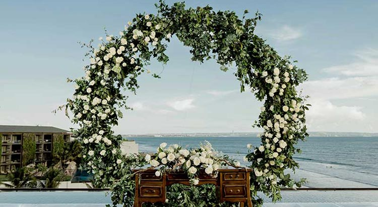 alila seminyak bali wedding venue