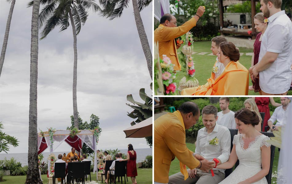 Laura and Janis Buddhist Bali Wedding Ceremony