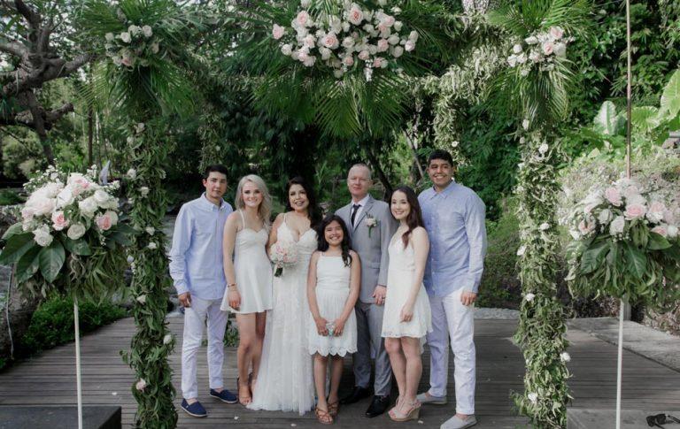 Veronica and Michael Bali Wedding