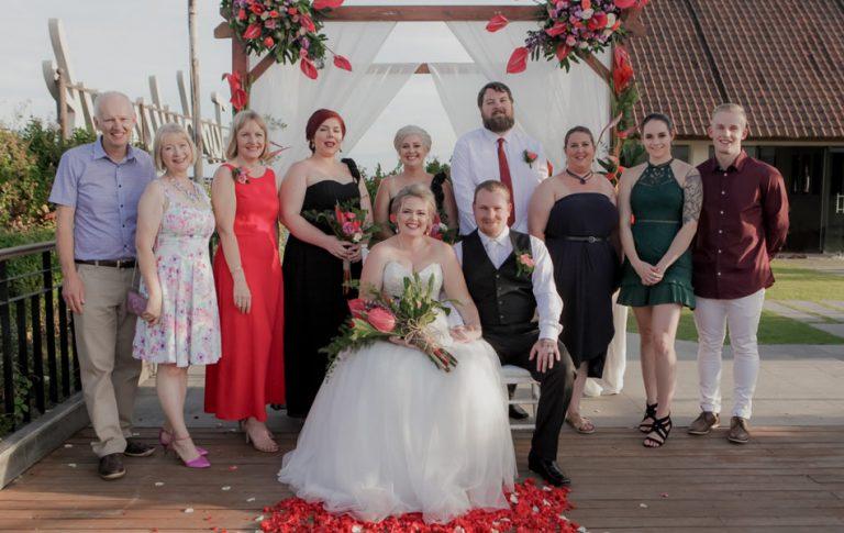 Danielle and Trent Wedding - Commitment Ceremony in Seminyak
