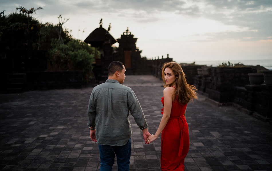 Elena and Jefferson - Bali Pre Wedding Photoshoot