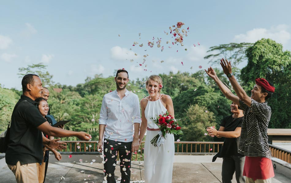 Jasmin and Mirko Wedding - Maya ubud Resort