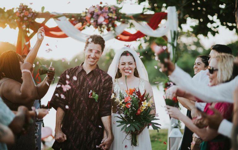 Larissa and Ryan Bali Wedding Vow Renewal - The Heavens Suite Canggu