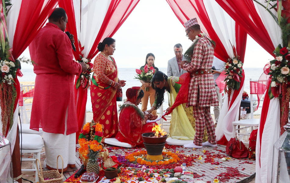 Niru and Bishwash - Indian Bali Wedding Ceremony