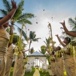 the legian bali garden wedding