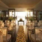 the legian bali sunset wedding