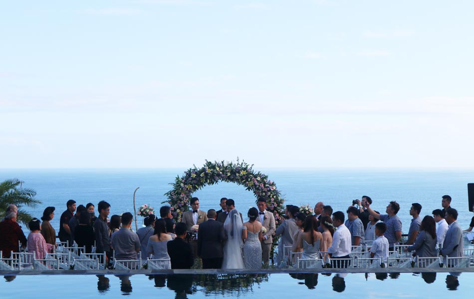 Marsie and Jason Clifftop Bali Wedding - Maiara Bali