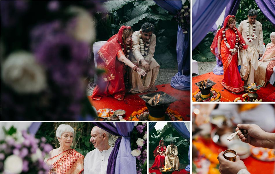 Robin and Sandeep - Indian Wedding Ceremony in Bali