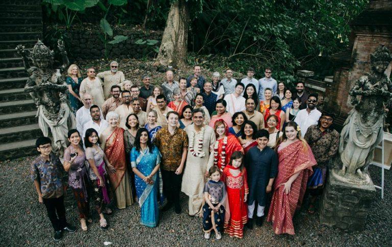 Robin and Sandeep Indian Wedding in Bali