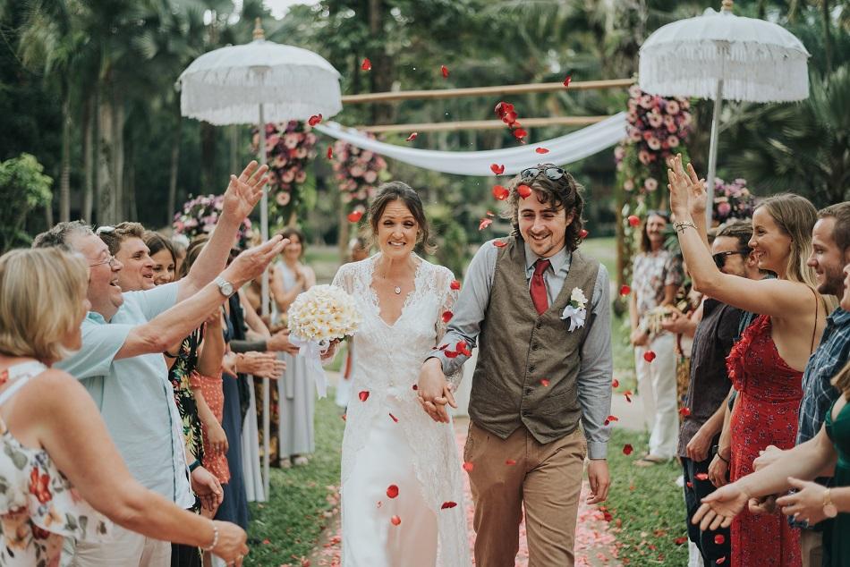 cat and matthew bali wedding