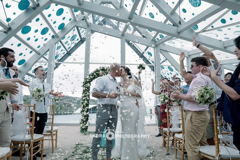 Sonia and Craig wedding - Le Meridien Resort Bali