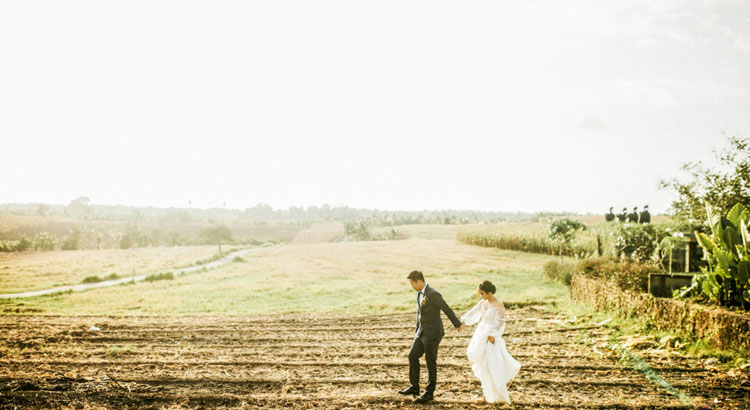 alami villa tabanan - rice field wedding package