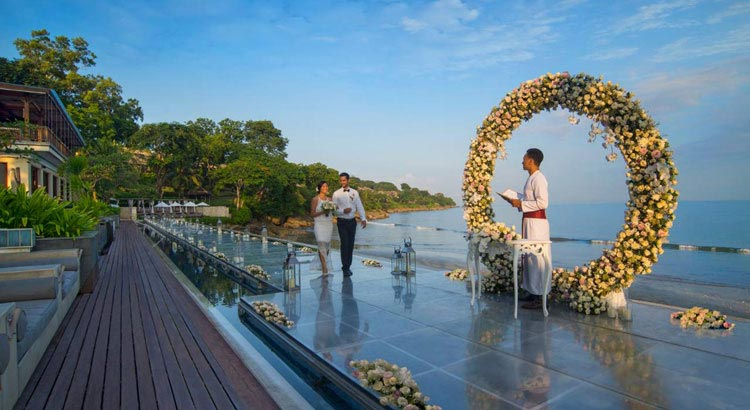 sundara weddin venue at four seasons jimbaran