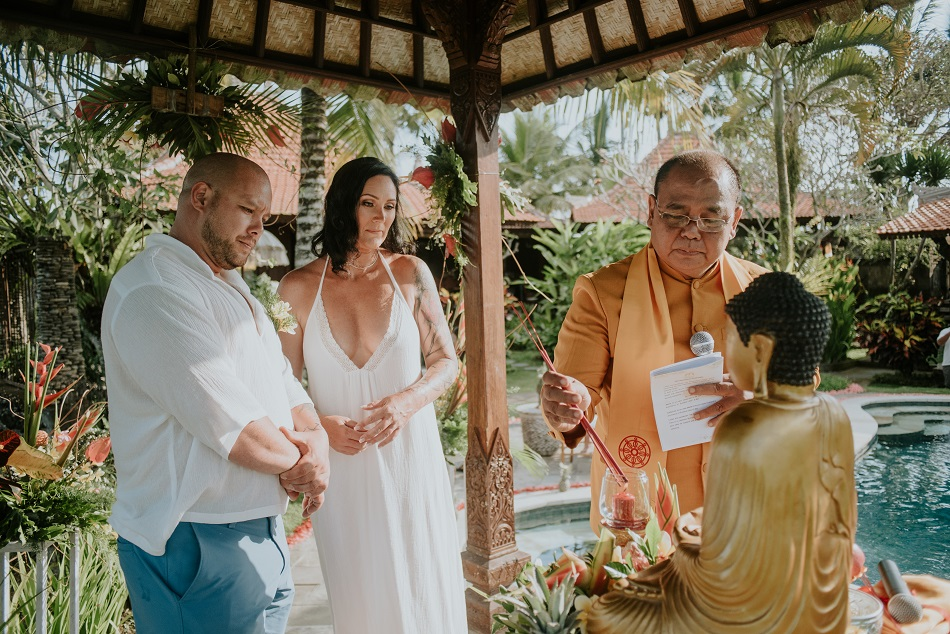 Catharine and Shane Buddhist Wedding Ceremony