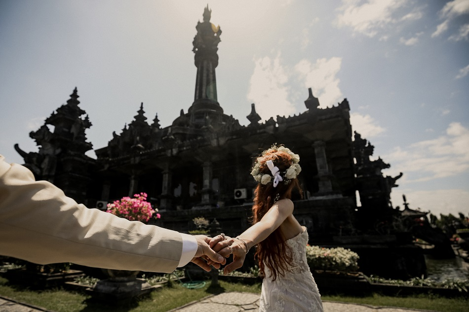 Helin and Aydogan Bali Prewedding Photoshot
