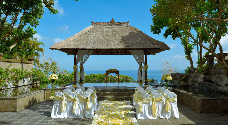 ayana resort bali bale kencana wedding package